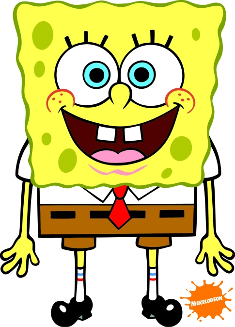 Credit: http://theultimatepongebob.wikia.com/wiki/File:SpongeBob_with_logo.jpg